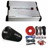 COMBO Alpine - SWT-12S4 Subwoofer + Cerwin Vega XED7600.2 600W + ST8G Amp Kit