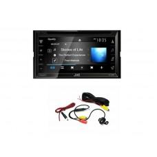 "Combo JVC - KW-V340BT 6.2"" Bluetooth Receiver / USB / 13 Band EQ + Camera"