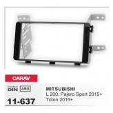 Fitting Kit - (11-637) MITSUBISHI L200, Pajero Sport, Triton 2015+