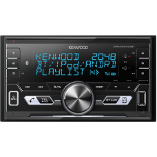 KENWOOD DPX-M3100BT 2DIN Digital Media Receiver with Built-in Bluetooth