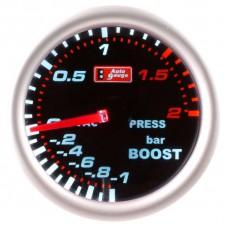 "AUTO GAUGE 270 SCALE SMOKE 2"" BOOST (PSI)"