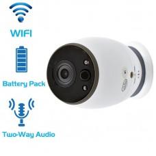 CCTV Battery WiFi IP Portable security wireless Camera HD 720P  - PIR DETECTION