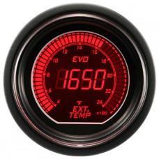 "AUTOGAUGE 2"" EVO Series Digital Exhaust Gas Temp"