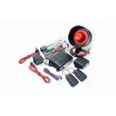 G24 Genius Car Alarm Series 2B 4 Button  - External Shock Sensor