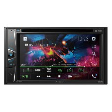Pioneer AVH-G215BT 6.2' Double Din DVD Bluetooth 7 Band Graphic EQ USB