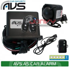 AVS A5 5 Star Insurance Approved car alarm - NEW