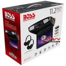 "BOSS BV11.2MC 11.2"" DVD/USB/SD FLIP-DOWN MONITOR"