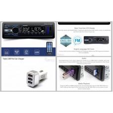 Budget Deal BLAUPUNKT NAGOYA 111 Receiver USB SD AUX FM USB 3 Port Charger