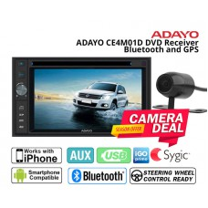 Combo Adayo - CE4M01D DVD receiver with Bluetooth GPS + Camera