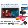 "COMBO Philips CE600BT 6.8""WVGA DSP Wireless Browse Bluetooth Free Camera"