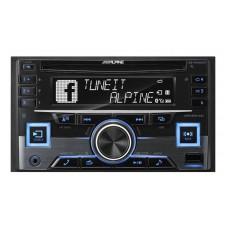 Alpine CDE-W265EBT 2-DIN CD Receiver with Advanced Bluetooth