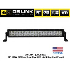 "DB LINK 22"" 120W Dual Row CREE LED Light Bar"