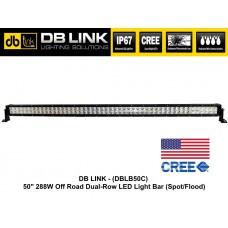 "DB LINK 50"" 288W Dual Row CREE LED Light Bar"