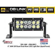 "DB LINK 8"" 36W CREE LED OFF-ROAD Light Bar"