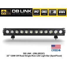 "DB LINK OFF-ROAD 22"" 120W CREE LED Light Bar"