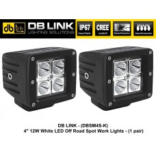 "DB LINK 4"" 12W CREE LED OFF-ROAD Spot Work Lights"