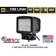 "DB LINK 6"" 60W Off-Road CREE LED Flood Light"