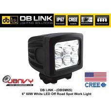 "DB LINK 6"" 60W CREE LED Spot Work Light"