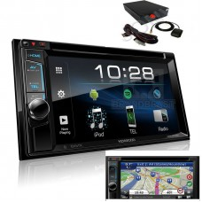 "Combo Kenwood - DDX4018BT 6.2"" DVD Bluetooth 13-band EQ Spotify + GPS Box"