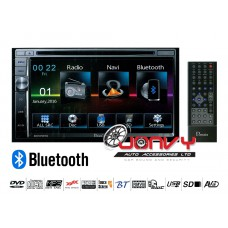 "Domain DM-DV5768NVU 6.75"" DVD/ Bluetooth/ USB/ GPS"