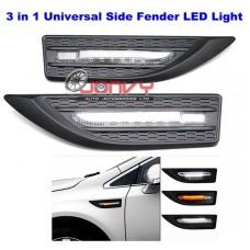 3 in 1 Universal Side Fender LED Light