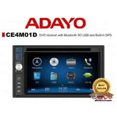 "ADAYO CE4M01D 6.2"" GPS DVD receiver w/ Bluetooth"