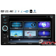 "Domain DV6218SLBT 6.2"" DVD receiver w/ Bluetooth/ SmartPhone Link"