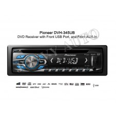 EX-DEMO Pioneer DVH-345UB Front USB / AUX in / MP3/ AM/FM