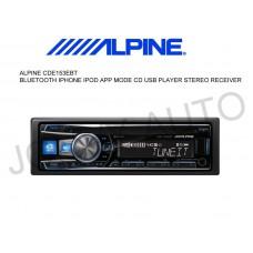 ALPINE CDE-153EBT Bluetooth/ iPhone / MP3 / CD