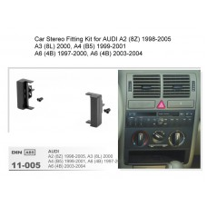 Car Stereo Fitting Kit for AUDI A2/A3/A4/A6
