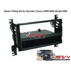 Stereo Fitting Kit for Hyundai Tuscon 2005-2009 (Single DIN)