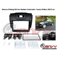 Stereo Fitting Kit for Holden Colorado / Isuzu D-Max 2012 on