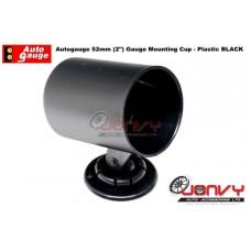 "Autogauge 2"" Plastic Black Mounting Cup - CHEAP"