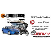 MONGOOSE VT900 GPS Vehicle Tracker with 2 Degree SIM Card