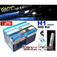 Autogauge H1 8000K HID Kit
