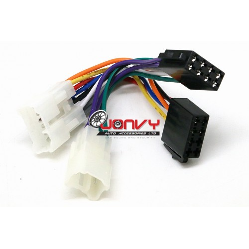 Fabulous Iso Wiring Harness For Toyota Wiring Digital Resources Hetepmognl