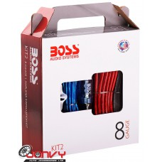 BOSS KIT2 - 8 Gauge Amplifier Installation Kit