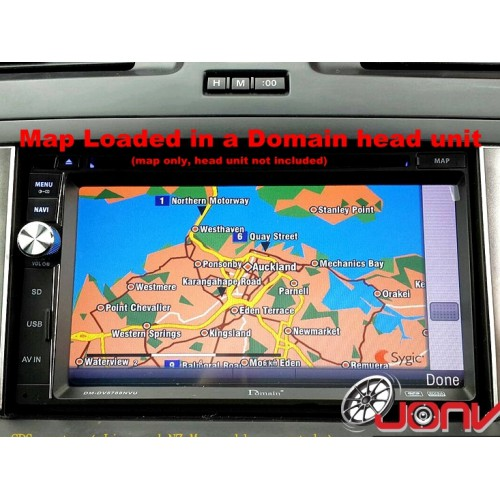 Sygic New Zealand GPS Navigation Map (Licensed maps only)