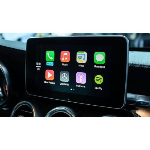 Mercedes Benz Apple CarPlay and Android Auto activation for NTG5se2 or  NTG5s1