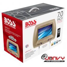 """BOSS HIR70UT Universal 7"""" Screen Headrest w/ USB/SD input"""