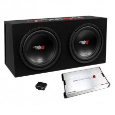 "Cerwin-Vega BKX7212V Dual 12"" Subwoofer Basskit with 1000W Amplifier"