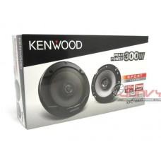 "Kenwood -KFC-S1666 6.5"" (16cm) 2-Way Coaxial Flush Mount Speakers 300W"