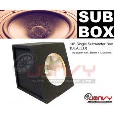 """10"""" SUBWOOFER BOX (sealed)"""