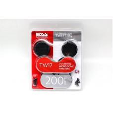 "BOSS TW17 1/2""(13mm) Micro-Dome Tweeters 200W"