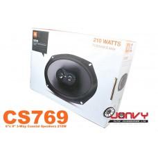 "JBL CS769 6""x 9"" 3-Way Coaxial Speakers 210W"