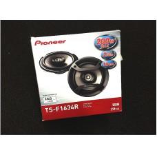 """Pioneer TS-F1634R 6.5"""" 2-way Car Audio Speakers"""