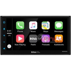 "BOSS - (BVCP9675A) Double Din 6.75"" Car Play + Androld Auto"