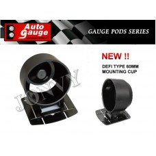 AUTOGAUGE DEFI TYPE 60MM MOUNTING CUP - NEW