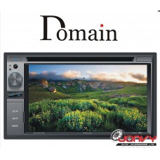 "Domain DM-DV6217BT  6.2"" Bluetooth DVD/MP3/USB/SD"